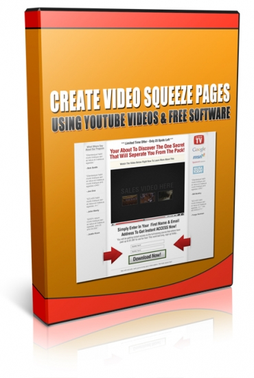 YouTube Video Squeeze Pages Master Resale Rights